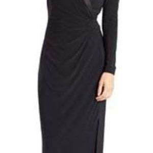 Lauren Ralph Lauren Tuxedo Gown